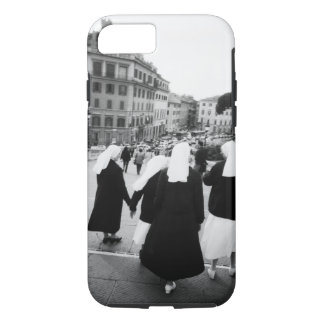 Rome Italy, Nun Patrol! (NR) iPhone 8/7 Case