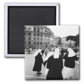 Rome Italy, Nun Patrol! (NR) Magnet