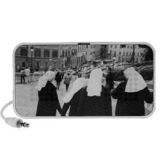 Rome Italy, Nun Patrol! (NR) Portable Speaker