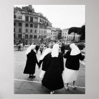 Rome Italy, Nun Patrol! (NR) Poster