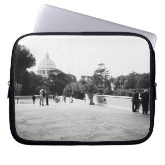 Rome Italy, The Vatican Gardens Laptop Sleeve
