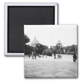 Rome Italy, The Vatican Gardens Magnet