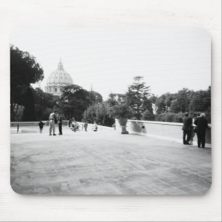 Rome Italy, The Vatican Gardens Mouse Mat