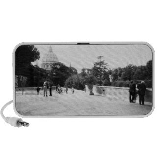 Rome Italy, The Vatican Gardens Portable Speakers