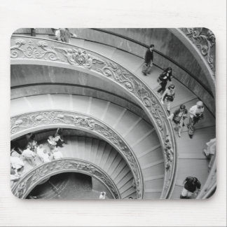 Rome Italy, Vatican Staircase 2 Mouse Mat