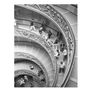 Rome Italy, Vatican Staircase 3 Postcard