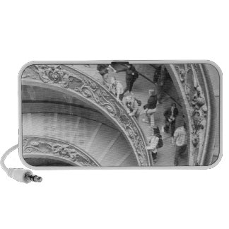 Rome Italy, Vatican Staircase 3 Notebook Speakers