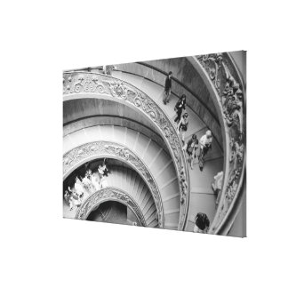 Rome Italy, Vatican Staircase Canvas Print