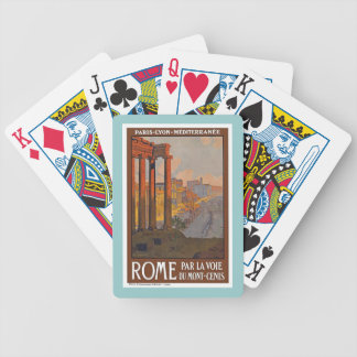 Rome Italy Vintage Playing Cards