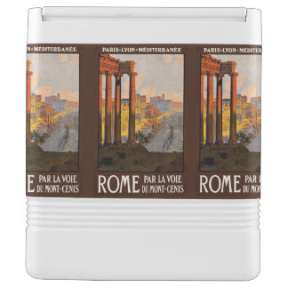 Rome Italy Vintage Travel custom cooler Igloo Cooler