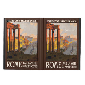 Rome Italy vintage travel custom device cases