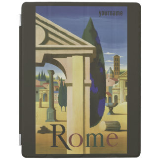 Rome Italy vintage travel device covers iPad Cover