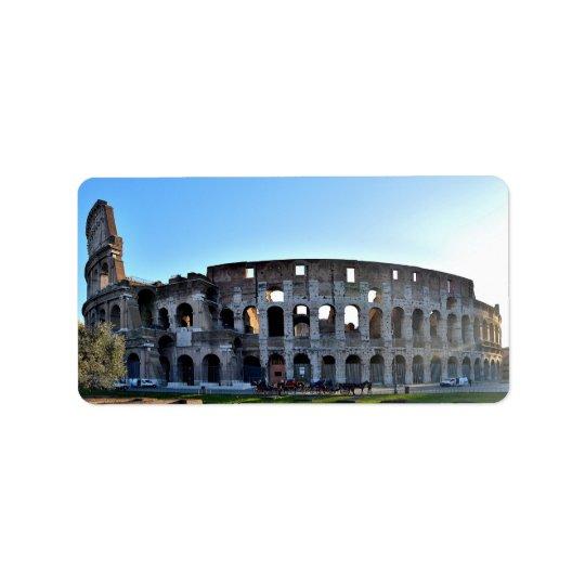 Rome label