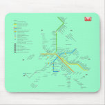 ROME METRO MOUSE PADS