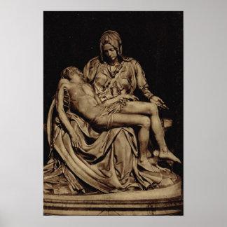 Rome, Michelangelo, Pieta Poster
