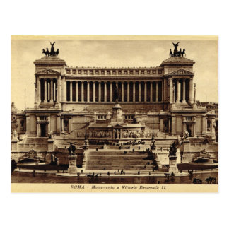 Rome, Monument of Vittorio Emanuelle II Postcard