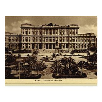 Rome, Palazzo del Guistizia Postcard
