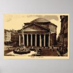 Rome, Pantheon Poster