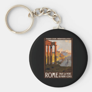 Rome par la voie du Mont-Cenis Key Chain