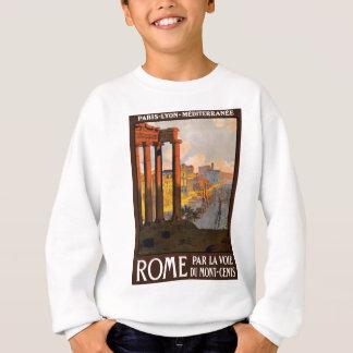 Rome par la voie du Mont-Cenis Sweatshirt