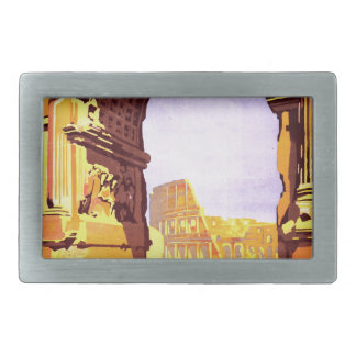 "Rome, par le train de luxe ""Rome Express"" Belt Buckle"