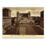Rome, Piazza Venezia Postcards