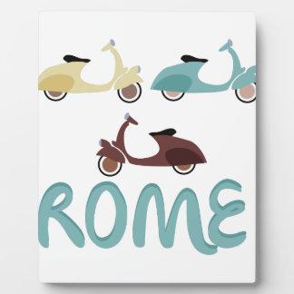 Rome Photo Plaque