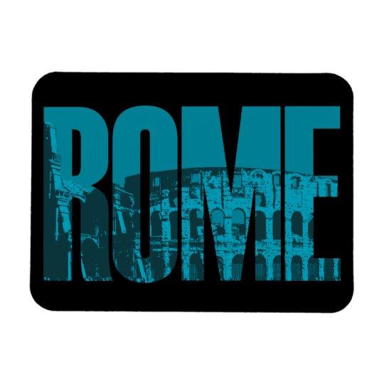 Rome Rectangular Photo Magnet