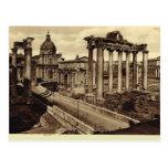 Rome, Roman Forum Postcard