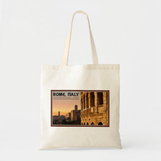 Rome - Roman Forum Sunset Tote Bags