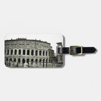 Rome ruins luggage tag