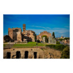 Rome ruins posters