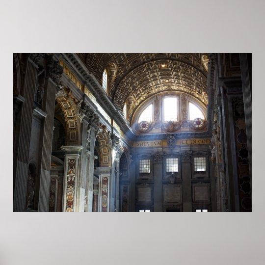 Rome skylight poster