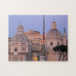 Rome skyline at sunset jigsaw puzzle