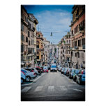 Rome street print