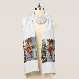 Rome The Eternal City Collage Scarf