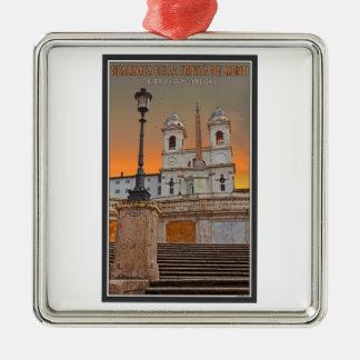 Rome - The Spanish Steps Christmas Ornament
