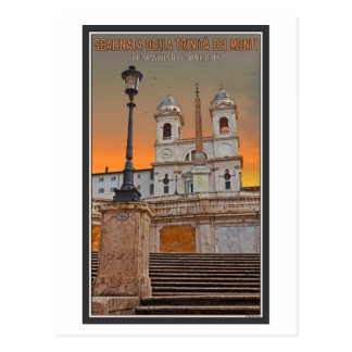 Rome - The Spanish Steps Postcard