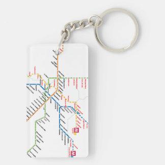 Rome transport Keychain