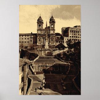 Rome, Trinta del Monte Poster
