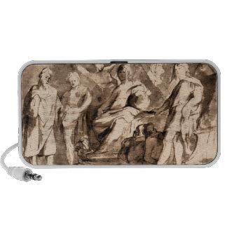 Rome Triumphs by Paul Rubens Notebook Speakers