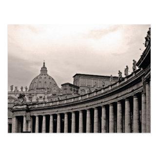 rome, vatican city post card