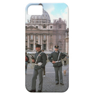 Rome, Vatican, Italian Police in the Square iPhone 5 Cover