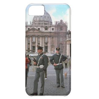 Rome, Vatican, Italian Police in the Square iPhone 5C Case