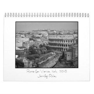 Rome & Venice, Italy - 2016 Calendar
