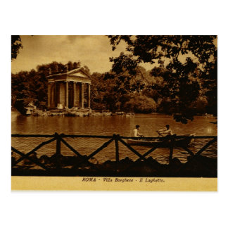 Rome, Villa Borghese Postcard