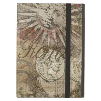 Rome Vintage Italy Travel Collage iPad Air Cover