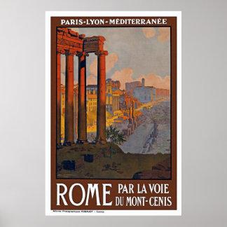 """Rome Vintage Travel"" Poster"