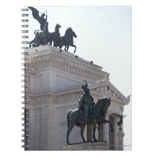 Rome. Vittorio Emanuele monument Notebook