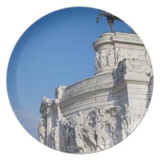 Rome, Vittorio Emanuele Monument Plate